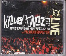 CD 20T + DVD 15T KILLER PILZE LIVE MIT PAUKEN UND RAKETEN GANZ SCHON LAUT HIER!