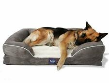 New listing Laifug Large Dog Bed,Orthopedic Memory Foam Dog Couch with Free Waterproof