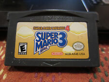 Gameboy Advance  Super Mario Advance 4 Super Mario Bros 3 Game tested VG
