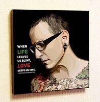 Chester Bennington Linkin Park Pop Art Painting Decor Print Wall Poster Canvas
