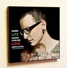 Chester Bennington Linkin Park Pop Art Painting Decor Print Wall Poster Canvas