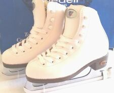 Brand New Riedell Ice Figure Skate Model 33 White  For Youth Different Sizes