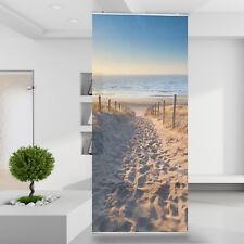 Raumteiler Vorhang Gardine Düne Dünenweg Strand Sonnenuntergang Natur Meer