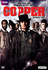 Copper: Season Two (DVD, 2014, 3-Disc Set) Brand New Never Opened