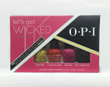 OPI Nail Lacquer - MINI - Let's Get Wicked - 4 colors x 3.75ml