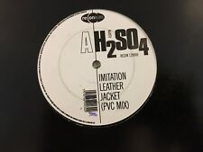 "H2SO4 (2) - Imitation Leather Jacket (ReCon Records RECON 12V006 12"", Single) VG"