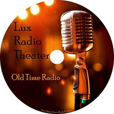 Lux Theater Old Time Radio Shows OTR 768 Episodes on 3 MP3 DVDs Free Shipping