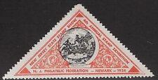 USA Cinderella: 1934 New Jersey Philatelic Federation,4th Annual Stamp Ex-dw234k