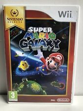 NINTENDO Wii SUPER MARIO GALAXY PAL VERSION NINTENDO SELECTS COMPLETE