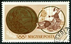 HUNGARY 1965 1fo50 SG2053 used NG Olympic Games Tokyo Hungarian Winners ##W54