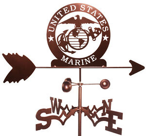 US Marines  Weathervane (Roof Mounting Included)
