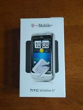HTC Wildfire S PG-76240 Cell Phone (White) T-Mobile locked