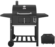 Charcoal Grill Bbq Outdoor Picnic Patio Backyard Cooking 24 Inch with Cover