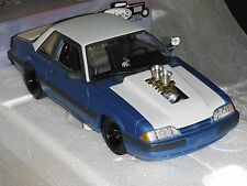 GMP 1:18 1987 FORD MUSTANG LX PC CAR PORK CHOP BOUNTY HUNTER 1500 MADE