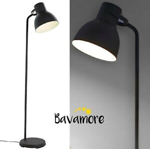 IKEA HEKTAR Adjustable Floor lamp, Steel, Dark Gray IN BOX BRAND NEW-
