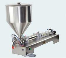 Cream Filling Machine G1WG, Oil Filling Machine 500ml,With 1 Tube Pneumatic 220V