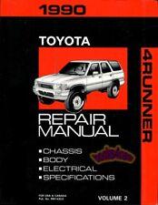 1990 4RUNNER SHOP MANUAL SERVICE REPAIR TOYOTA TRUCK BOOK HAYNES CHILTON 4X4