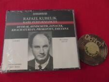 2 CD BOX Rafael Kubelik Rare Performances Dvorak Hindemith Janacek 2008