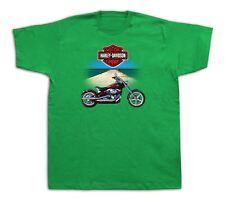 Motorcycle Harley davidson desert Tshirts Softtail Hot Rod King Touring Classic