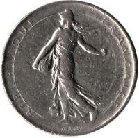 COIN / FRANCE / 1 FRANC 1969  #WT667