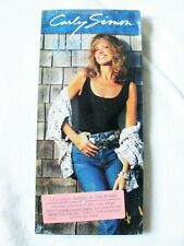 CARLY SIMON Have You Seen Me Lately? SEALED Promo LONGBOX CD BOX LONG Lot Set