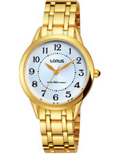 Lorus Watches Ladies Watch XS Classic Analogue Quartz Stainless Steel Coated Rg2
