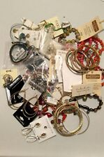 Assorted Lot 50 Pieces Fashion Jewelry Necklace Earrings Bracelets Rings