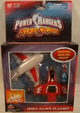 Power Rangers Ninja Storm - Ninja Hawk Mini Playset & Game Red by Bandai (MISB)