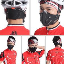Respiration Masque Filtre Anti Pollution Coupe-Vent Pr Vélo Moto Snowboard