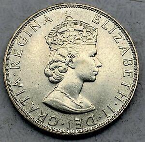 Bermuda Silver 1 Crown 1964