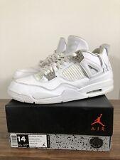 "Air Jordan Retro 4 ""Pure Money"" 308497-100 Mens Size 14"