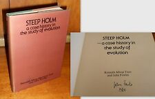 Signed 1st Ed, Steep Holm: A Case History in the Study of Evolution, John Fowles