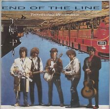 ROY ORBISON TRAVELING WILBURYS 45 GERMANY END OF THE LINE/CONG   VG++ AT LEAST