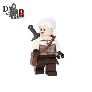 The Witcher 3 Ciri Minifigure. Made using LEGO & custom parts.