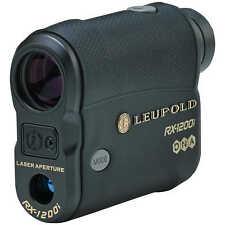 Leupold RX-1200i DNA Compact Digital Laser Rangefinder 6x Black - 119359