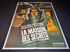LA MAISON DES SECRETS michael craig   affiche  cinema