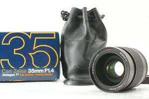 [TOP MINT Box] Contax Carl Zeiss Distagon T 35mm f1.4 MMJ C/Y Mount From JAPAN