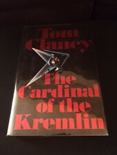 The Cardinal Of The Kremlin Tom Clancy 1988 Author Signed Hardcover Jacket Cathy