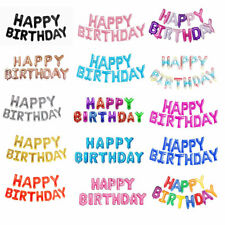 1 Set Party Banner Letter Balloons Ballon Foil Birthday Decor Happy Birthday hot