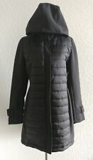 GALLERY Womens Black Small Warm Jacket Coat Outerwear FASHION HAVEN