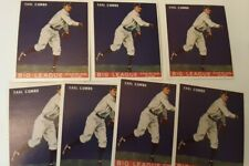 (7) 1933 Goudey Reprints #103 Earle Combs Yankees (7 card lot)