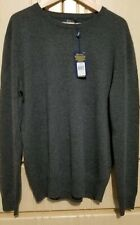Polo Ralph Lauren 100% Cashmere Sweater Crew Neck Pullover Grey Sizes S , L , XL
