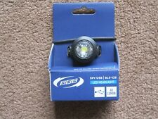 BBB BLS-125 LED HEADLIGHT USB CYCLE LIGHT RECHARGEABLE