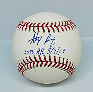 Anthony Rizzo Signed LE44 200th HR 5/7/19 Baseball MLB and Fanatics Hologram