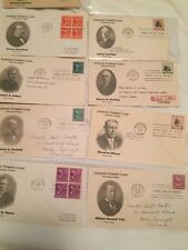 803-834 FDC set Prexies Note all scans FREEDOM