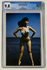 BETTIE PAGE v2 #5 CGC 9.8 Photo VIRGIN 1:10 Variant Cover F