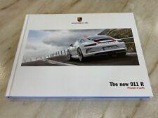 Porsche 911R 'Principal of Purity' 2016 911 R Large Hardback Brochure