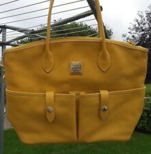 Dooney and Bourke Yellow Tote