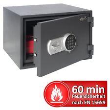 Tresor Feuerfest Feuerschutztresor 319x445x405mm Elektronikschloss LFS60P