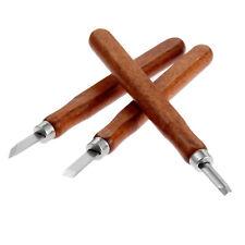 4 un conjunto de cincel para Madera de gubia herramienta de grabado hecho a mano Hazlo tú mismo Craft
